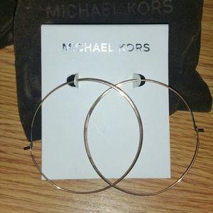 2 MK Signature thin hoops